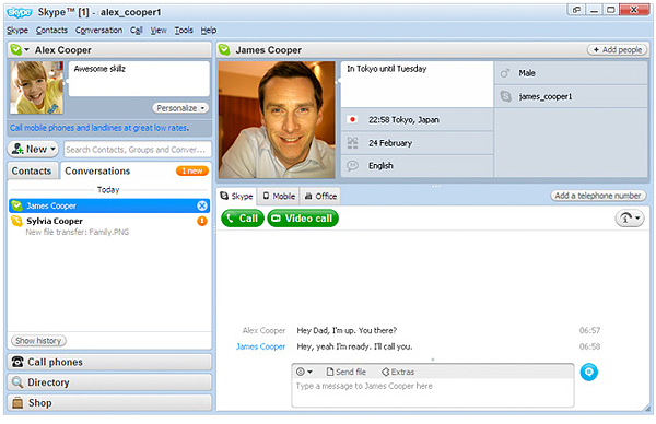 Skype 7.33.0 for windows, mac, linux