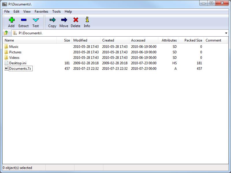 7-Zip 9.38 beta