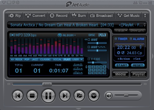 JetAudio 8.1.3 Basic