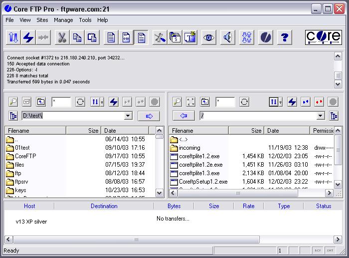 Core FTP LE 2.2 Build 1887