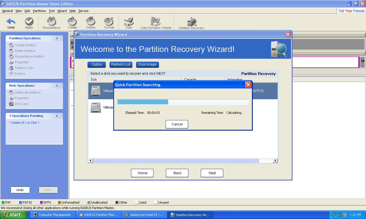 Easeus Partition Master 10.1 Free Edition