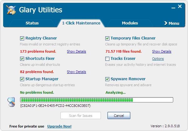 Glary Utilities 2.55.0.1790