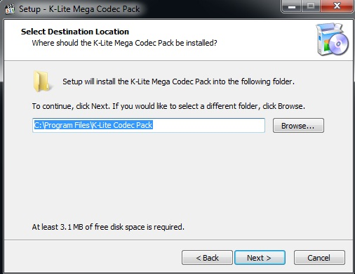 K Lite Mega Codec Pack 13.5.0