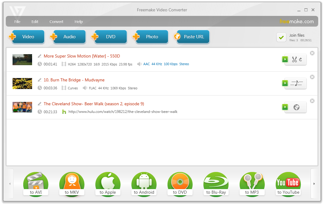 Freemake Video Converter 4.1.4