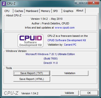 CPU - Z 1.68