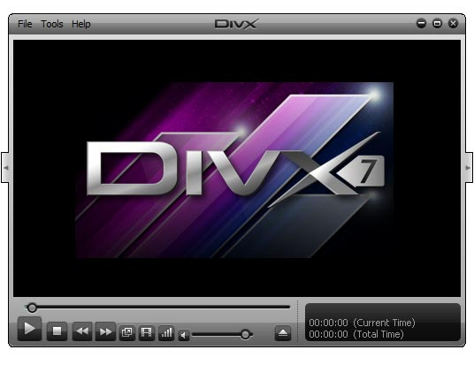 DivX Player - プログラムのスク...