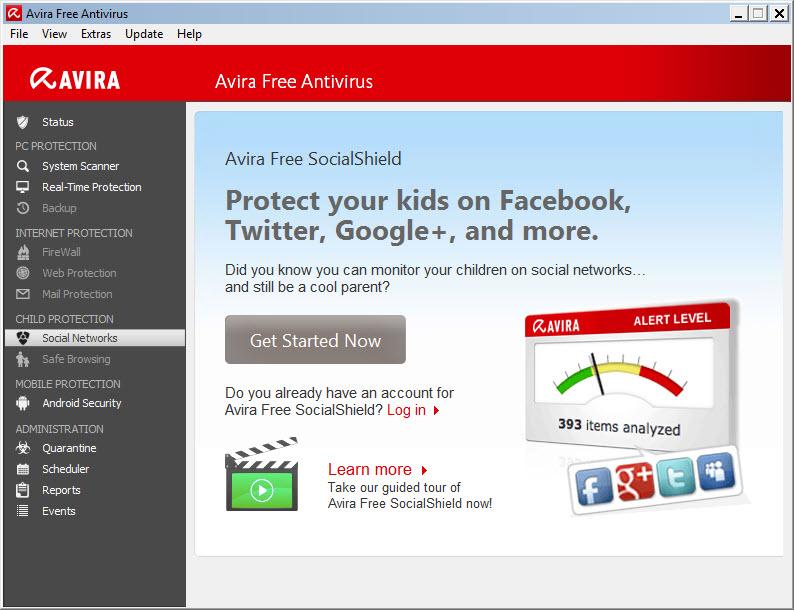 Avira 15.0.11.574 Free Antivirus