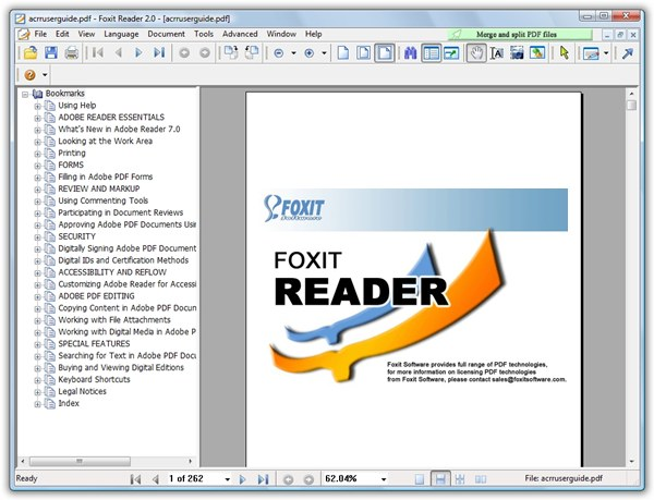 Foxit Reader 7.1.5 for PDF