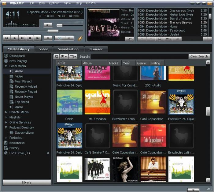 Winamp 5.66 Media Player Latest Final