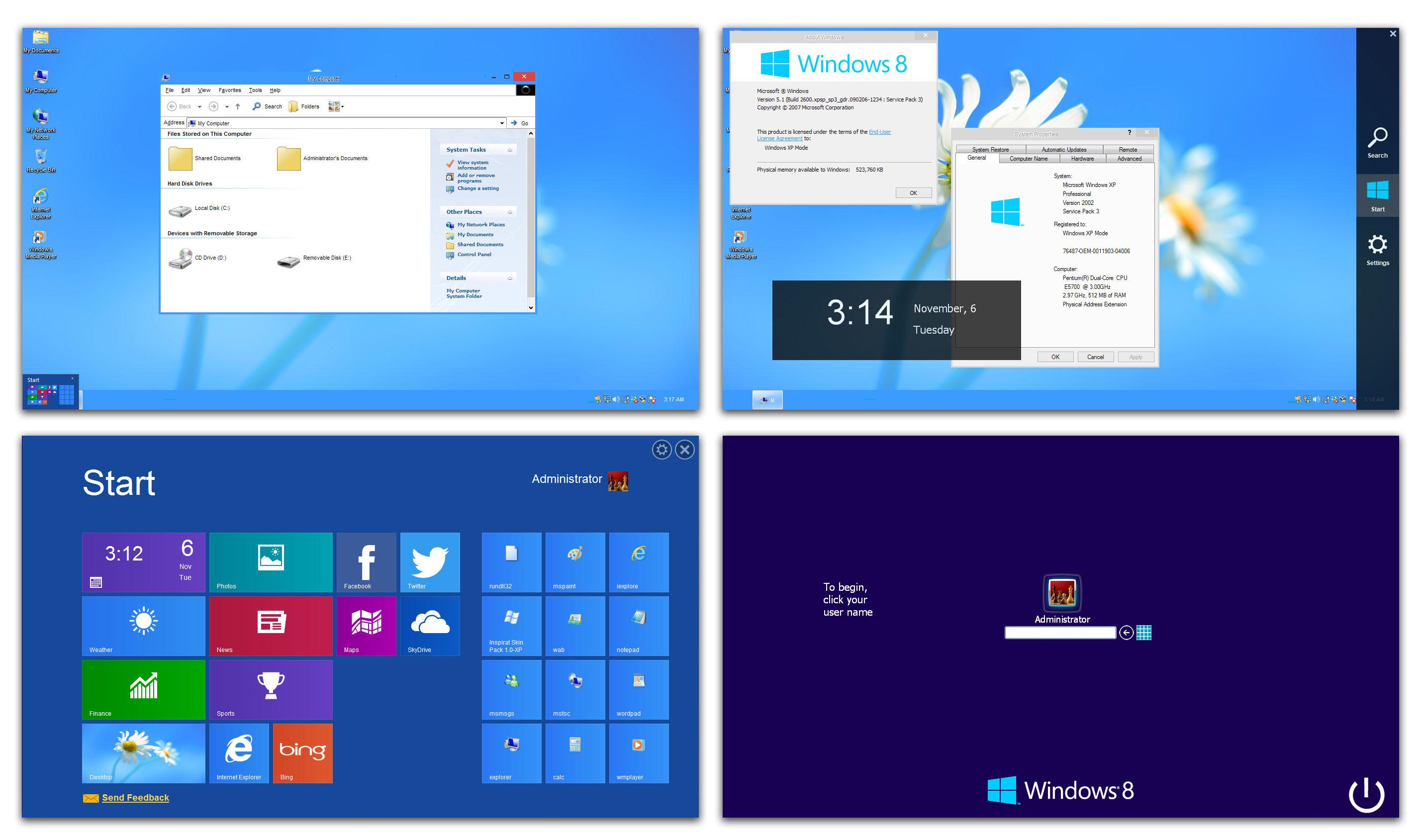Windows 8 Skin Pack 9.0