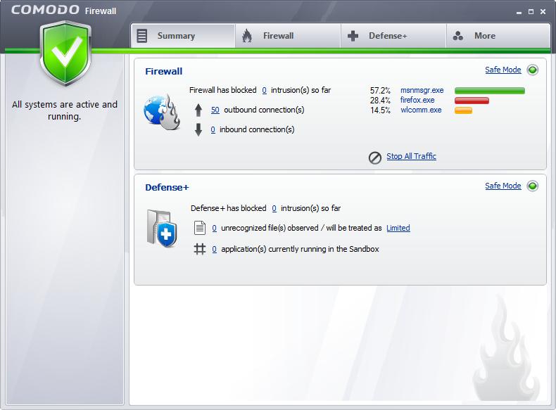 Comodo Firewall 7.0 Full Free