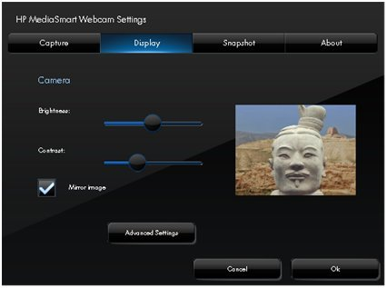 HP MediaSmart Webcam Software 4.2.3303