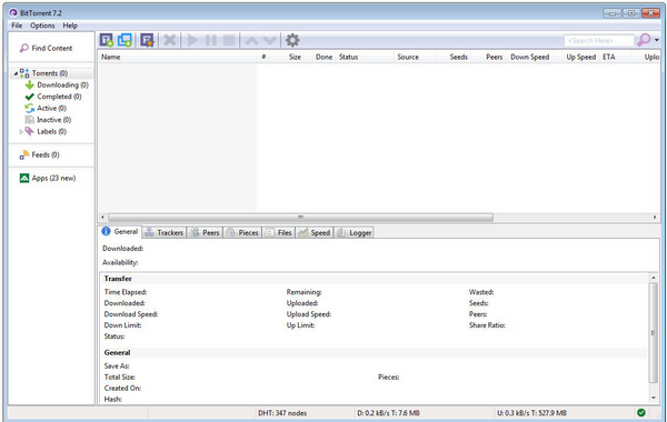 BitTorrent 7.9.2 Build 33263