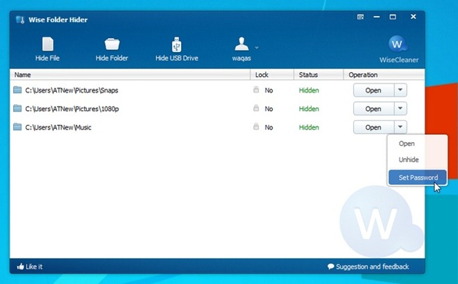 Wise Folder Hider 2.02