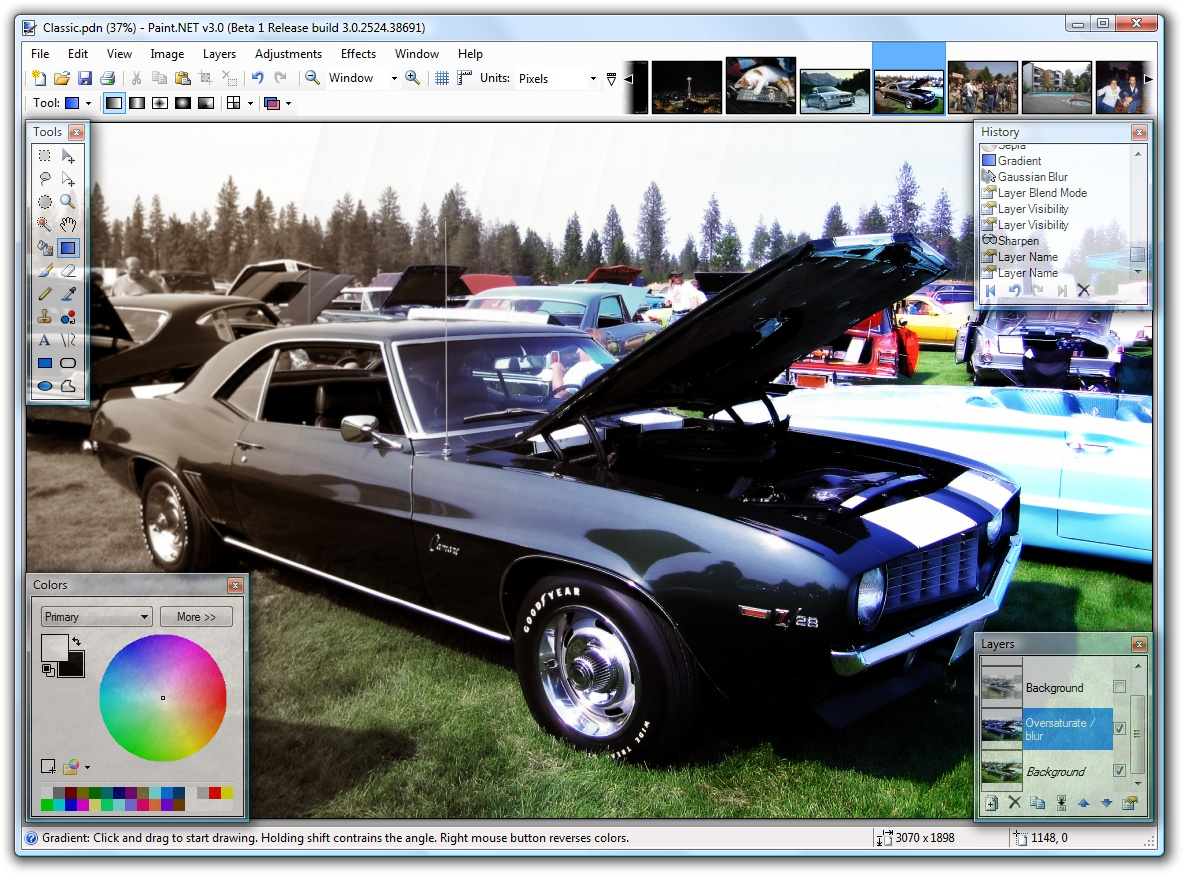 Paint.NET 4.0.16 free photo editor