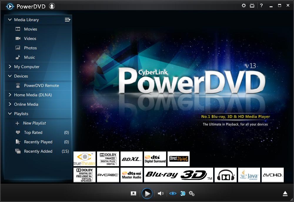 PowerDVD 13.0.16441