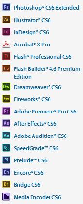 Adobe Creative Suite 6 Master Collection CS6