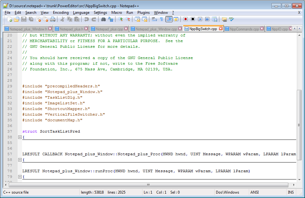 Notepad ++ 6.7.4 Best Code Editor