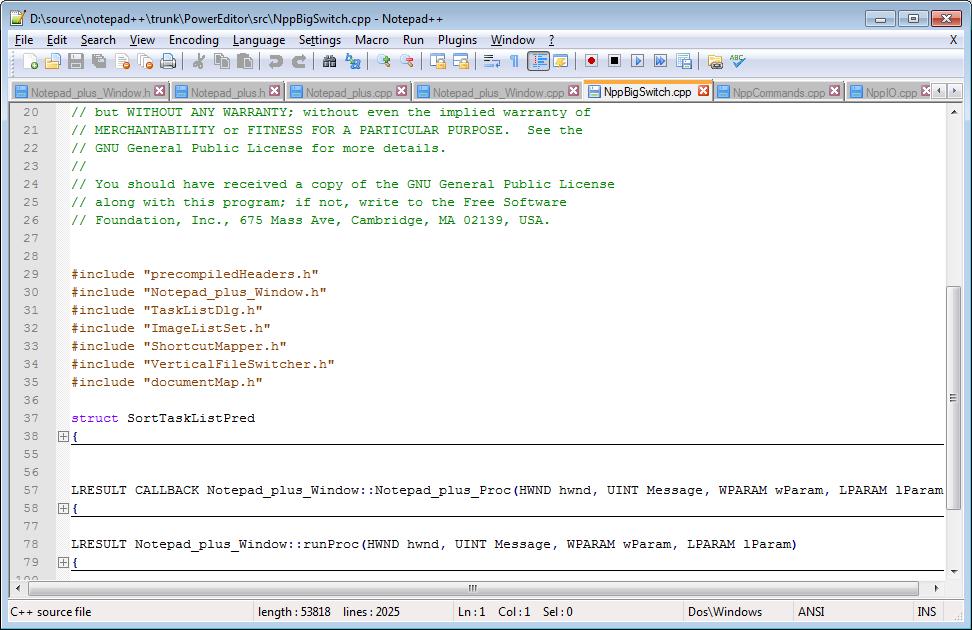 Notepad ++ 6.7.4 Best Code Editor