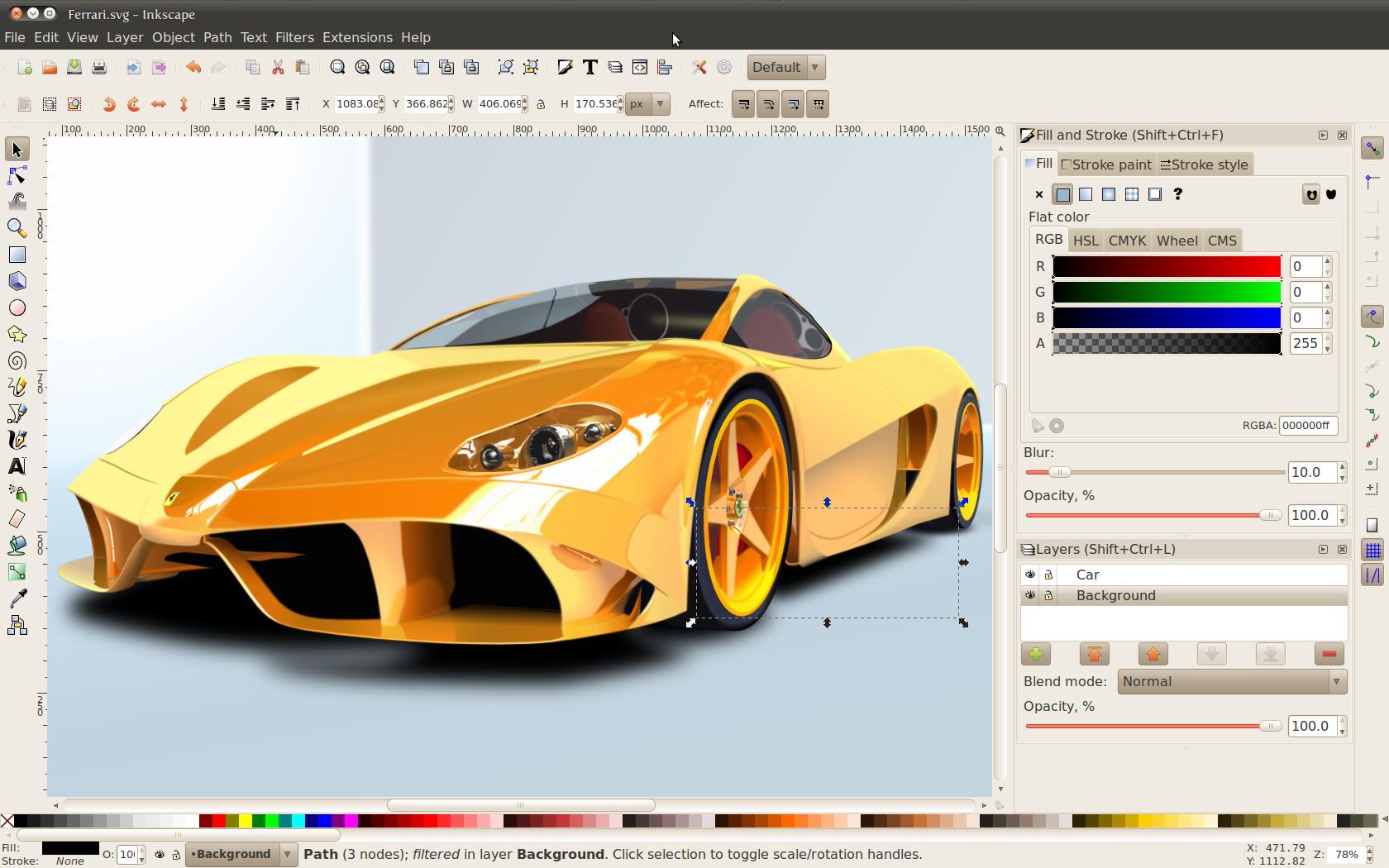 Inkscape 0.48.4