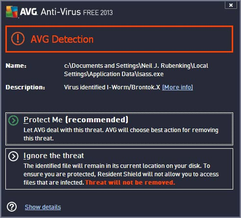 AVG Anti Virus 2017.5.30 Free Edition