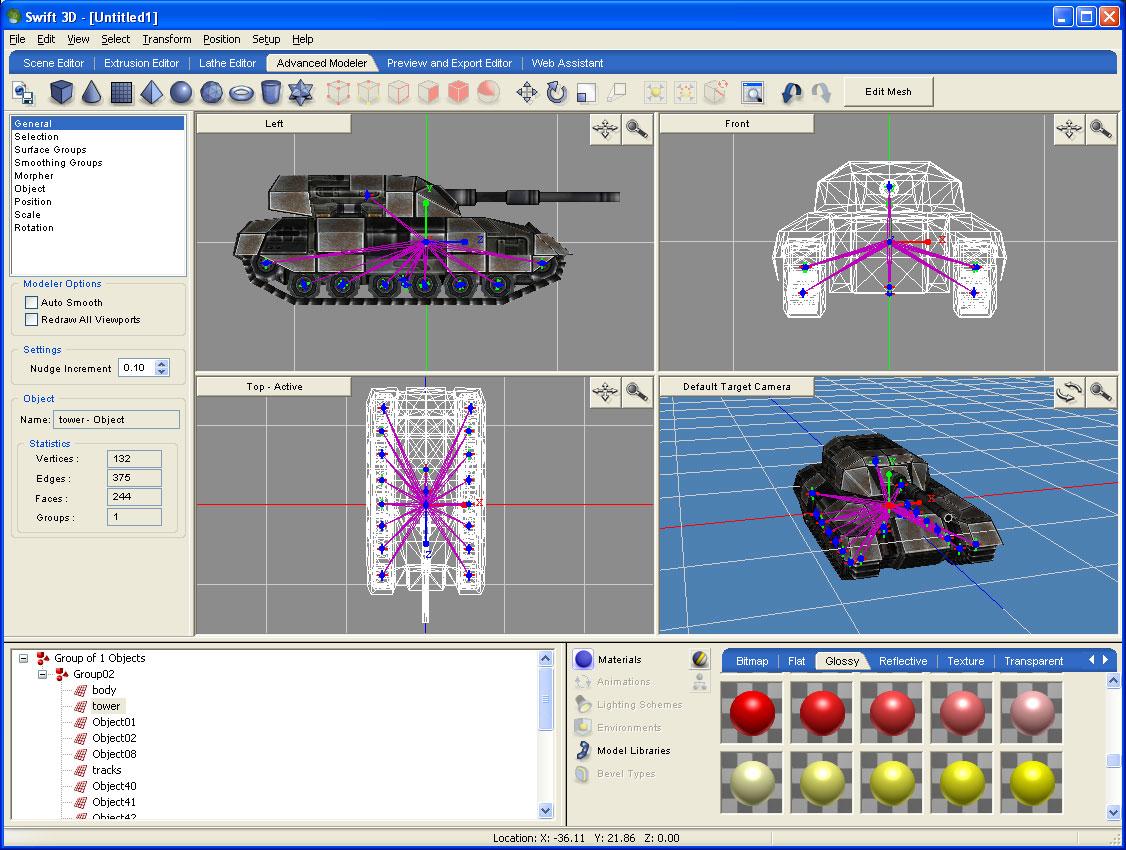 Swift 3D 6.00 Build 933