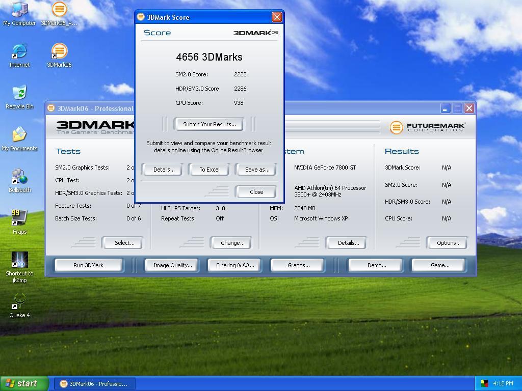 3DMark06 1.2.1