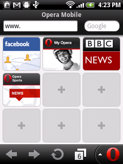 Opera Mini 7.0.3 Opera Mobile 12.0.4 Android, iPhone, Symbian, Nokia, IOS