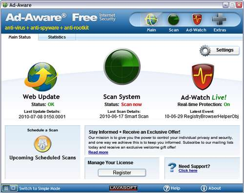 Ad-Aware Pro Security 11.0.45