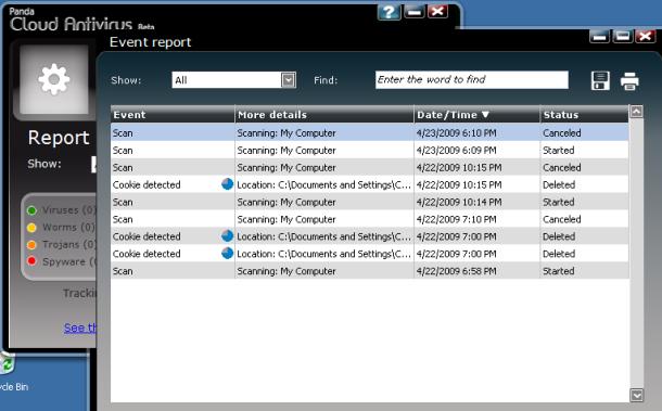 Panda Cloud Antivirus 2.0.1