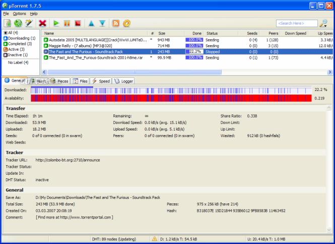 uTorrent 3.4.2 Build 33254