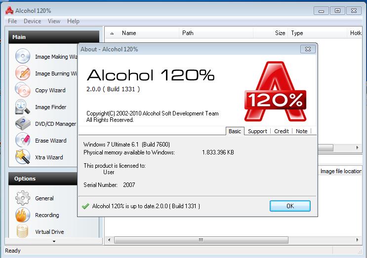 Alcohol 120% 2.0.2.58