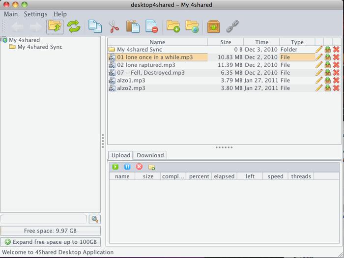 4shared Desktop 4.0.3
