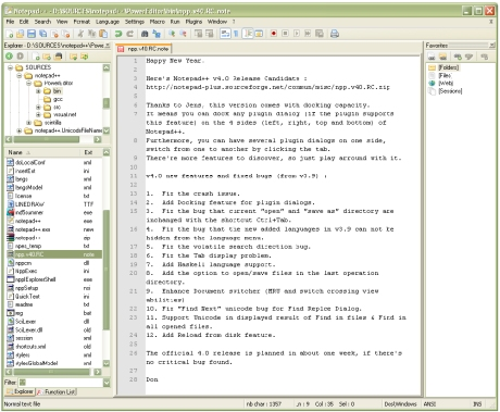Notepad Plus 6.3.3