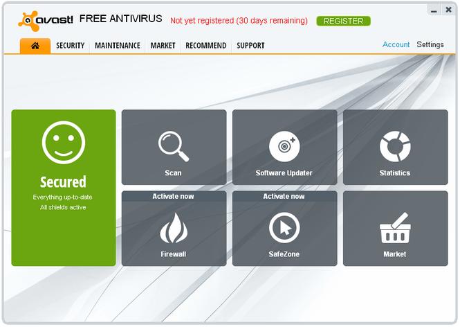 Avast Free Antivirus 17.6.2310