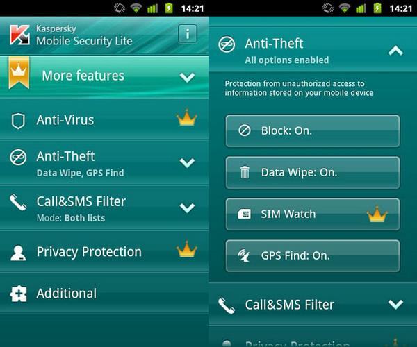 Kaspersky Mobile Security 10.4.47