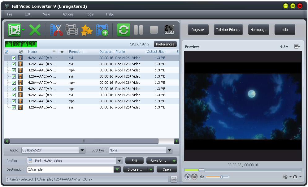 Full video Converter 10.3.9