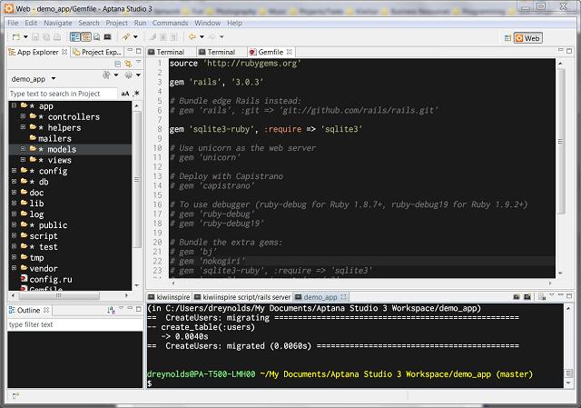 Aptana Studio 3.4.2 Best Editor for Developers