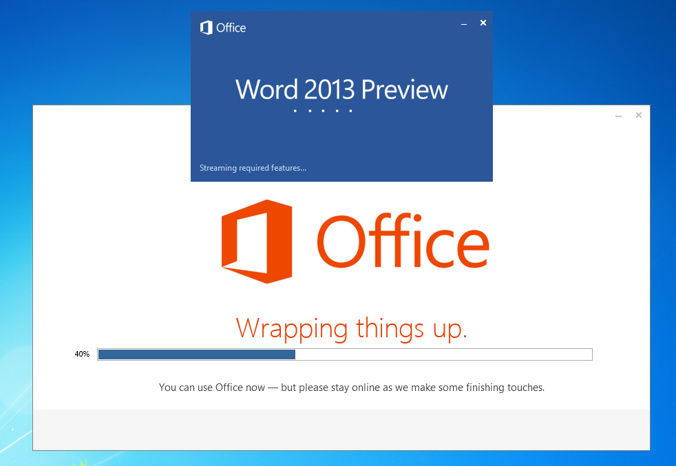 Microsoft Office 2013 Final, Direct Download from Microsoft Server