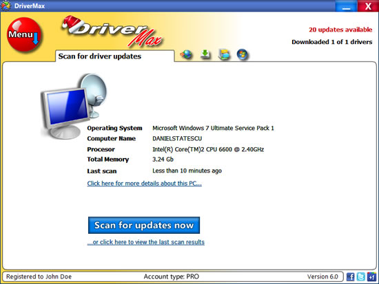 DriverMax 7.13 For XP, Win7, Win8