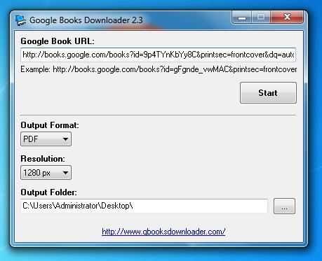 Google Books Downloader 2.3