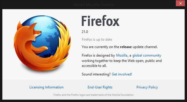 Firefox 72.0.2 for windows