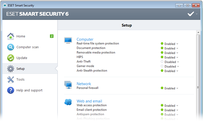 ESET Smart Security 10.1.204