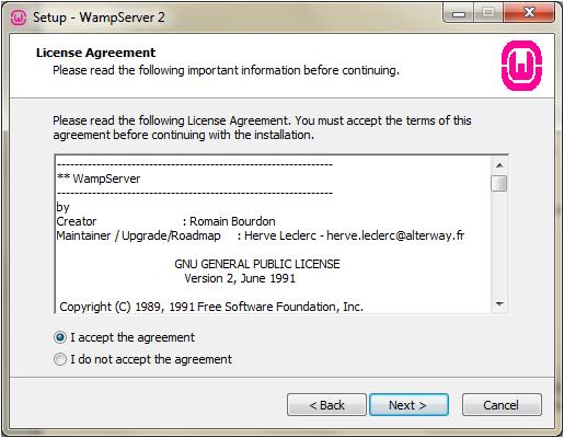 WampServer 2.2e