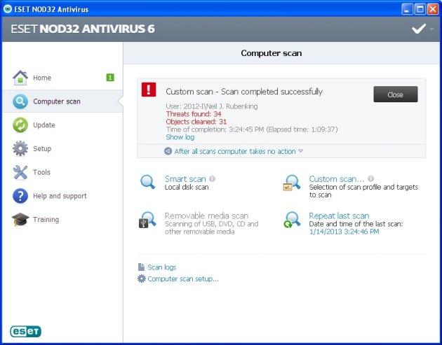 ESET NOD32 Antivirus 2020 Edition