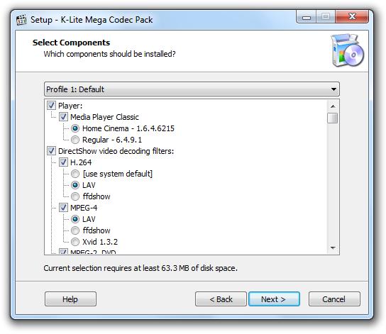 K Lite Mega Codec Pack 15.0.4 klm