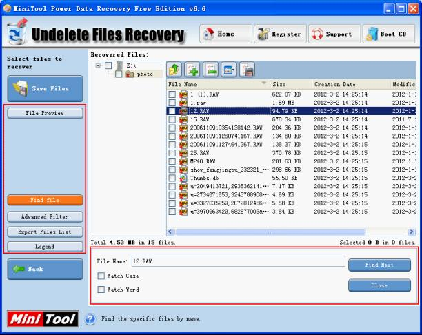 Power Data Recovery Free Edition 6.6