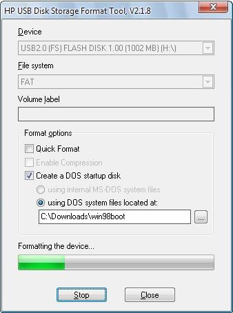 HP USB Disk Storage Format Tool 2.2.3