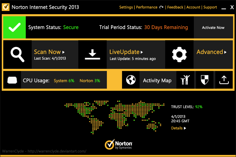 Norton Internet Security 2014 Ver 21.1.0