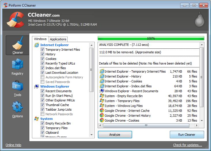 CCleaner 5.33